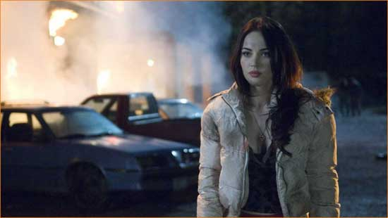 "Megan Fox perfectly cast as a hope-eating demon in ""Jennifer's Body""."